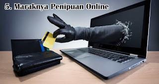 Maraknya Penipuan Online menjadi salah satu tantangan yang dihadapi saat menjalankan bisnis online