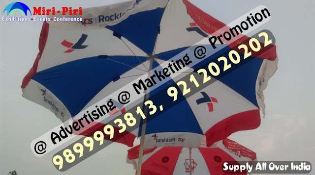 Suppliers - Advertising Umbrella, Prachar Chhata,Umbrella Wholesalers, Promotional Umbrella Manufacturers, Customized Umbrella, New Delhi, India