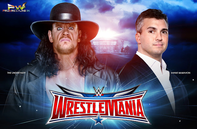 WrestleMania 32 — The Undertaker vs Shane McMahon Download HQ Wallpaper For Desktop/Smartphone