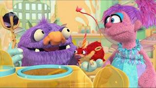 Niblet, Abby Cadabby, Blögg, Gonnigan, Mrs. Sparklenose, Abby's Flying Fairy School Niblet's Wand, Sesame Street Episode 4413 Big Bird's Nest Sale season 44