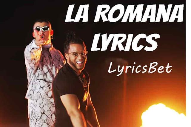 La Romana Lyrics
