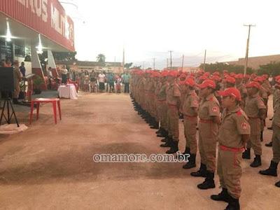 Corpo de Bombeiros abre inscrição para Projeto Bombeiro Mirim