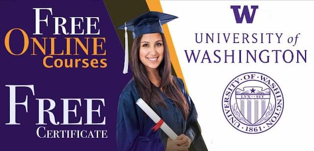 هااام للطلاب العرب كورسات ودورات مجانية مقدمة من جامعة واشنطن على الإنترنت مع شهادات مجانية
