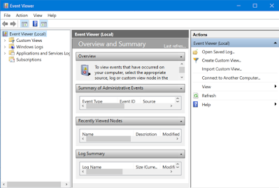 How to use Windows Event Viewer