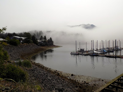 It was very Foggy on our Trip to Seldovia