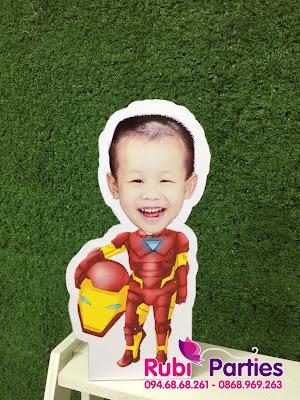 Chibi hinh iron-man