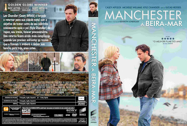 Capa DVD Manchester A Beira Mar