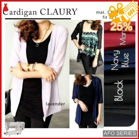 AFO181 Model Fashion Cardi Claury Modis Murah BMGShop