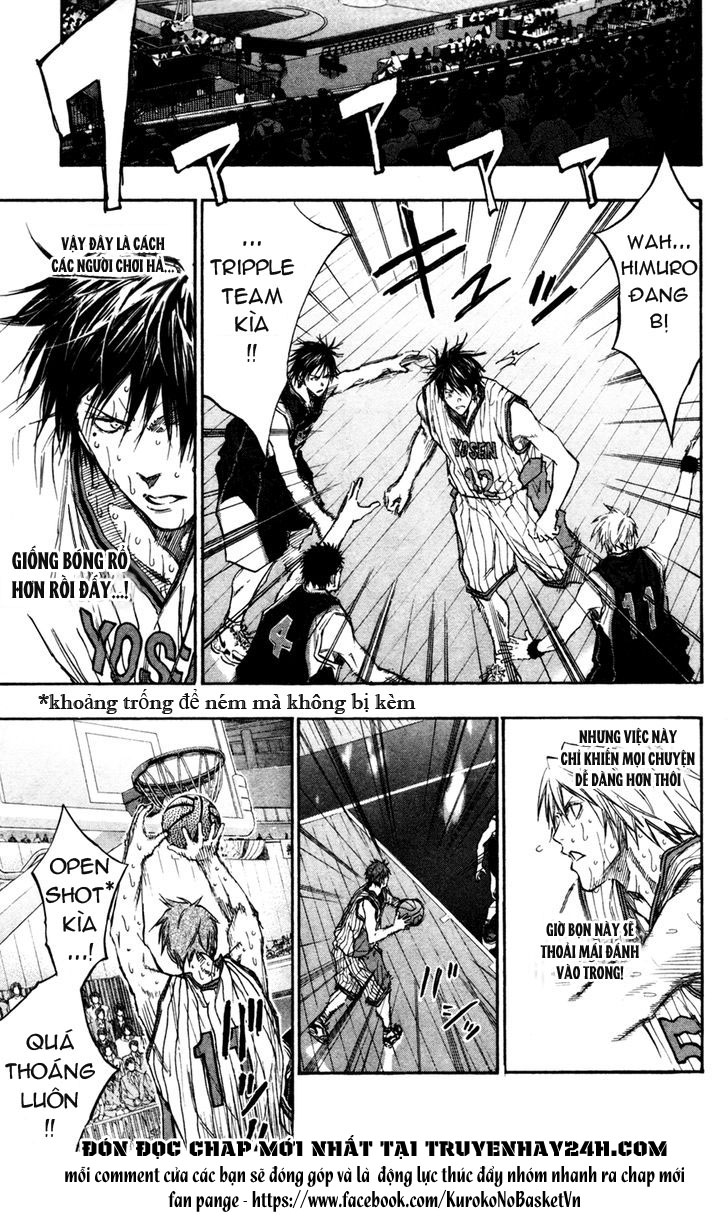 Kuroko No Basket chap 163 trang 11