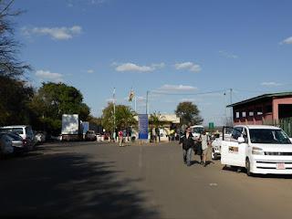 Frontera de Zimbawe