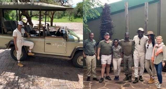 2018 World's sexiest man Idris Elba tours Tanzania with wife in worldwide honeymoon