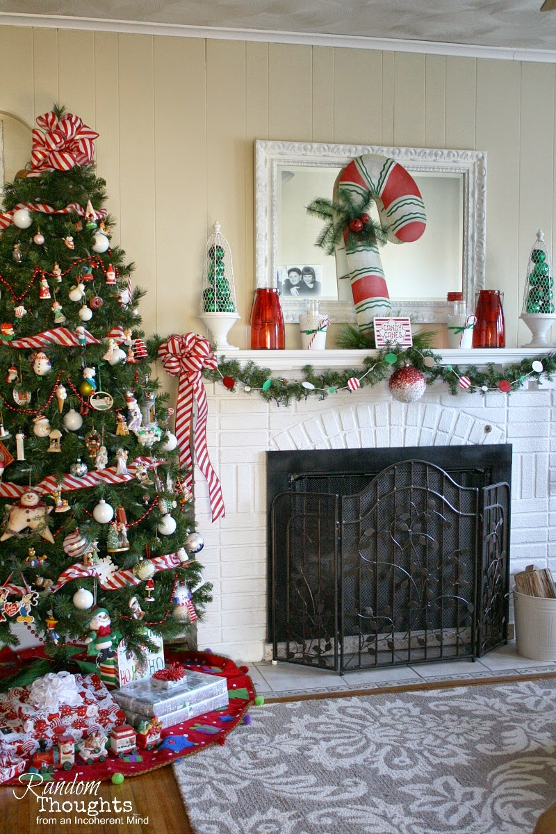 Christmas in the Living Room - Random Thoughts Home