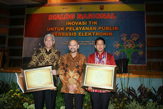 Pemkot Pekalongan Terima Penghargaan  e-Rekapitulasi Dari BPPT