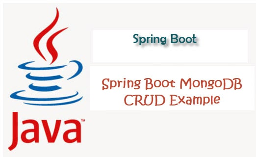 spring boot spring data mongo crud example