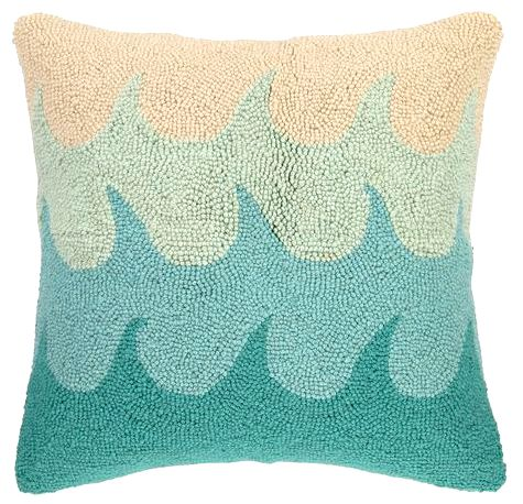 Aqua Wave Pillow