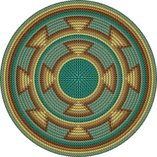 Mochila Wayuu Çanta Taban Şemaları