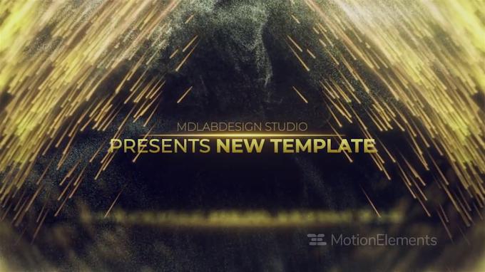 Golden Premium Titles : After Effects Template