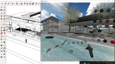 Learn google sketchup from basic to advance Level
