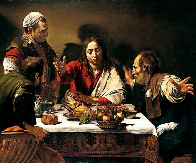 """jesus and caravaggio essay In his painting """"madonna and child with st anne"""", caravaggio showed his unique style of tenebrism and disregarded and controversy it would cause caravaggio."""