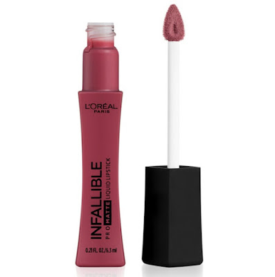plum colored liquid lipstick with applicator