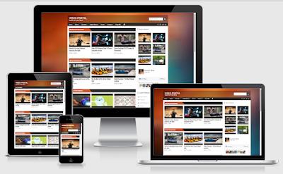 Video Portal Theme Template Keren Khusus Video
