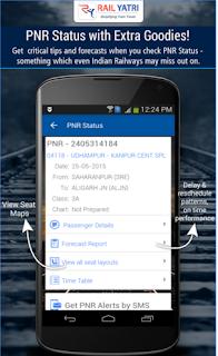 RailYatri PNR Status