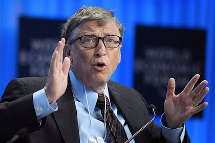 Bill Gates Steps Down From Microsoft Board To Focus On Philanthropy.