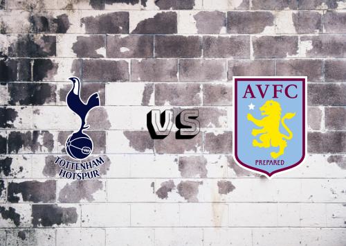 Tottenham Hotspur vs Aston Villa  Resumen y Partido Completo