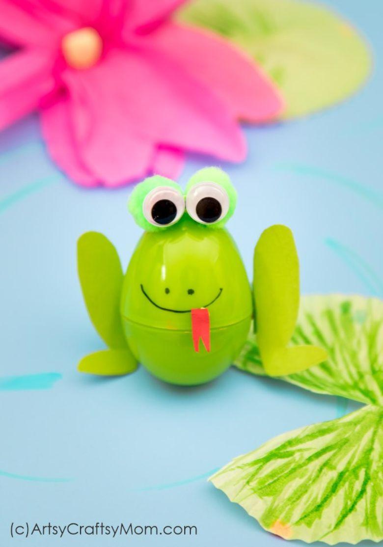 Easter egg decorating ideas - Frog Easter Eggs