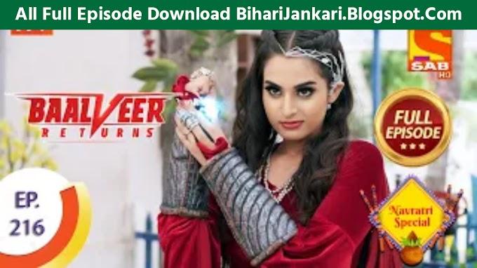 Baalveer Returns Full Episode 216 Download Mp4 Hd - BaalVeer Returns Ep-216 Full Hd Download