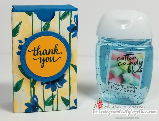 Garden Impressions Designer Series Paper, Gift Box, Hand Sanitizer, stampin up