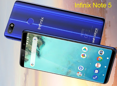 Infinix Note 5 | Google Android One, Superfast Fingerprint Sensor, specifications & features