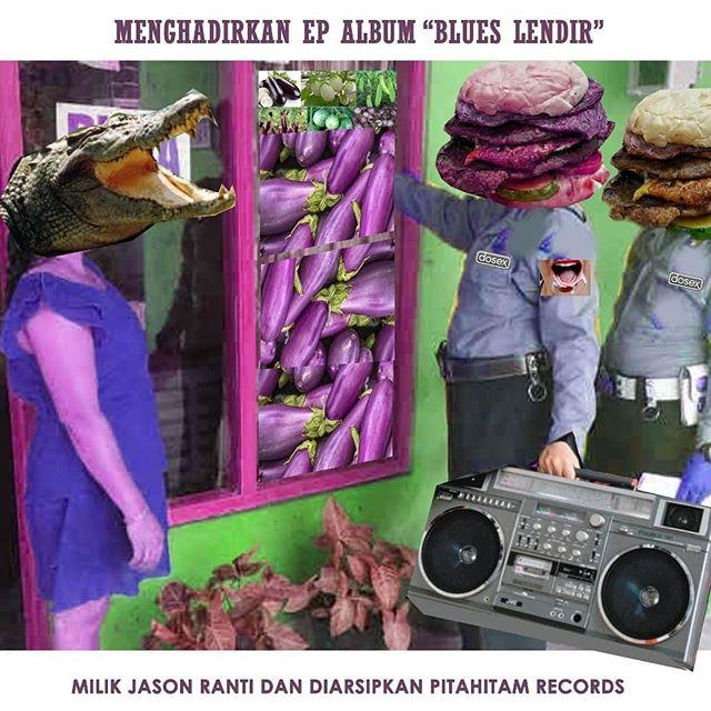 Kaset Pita Jason Ranti E.P Blues Lendir