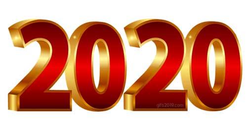2020 rojo dorado