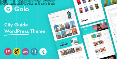 Golo 1.4.3 Nulled - Directory & Listing, Travel WordPress Theme