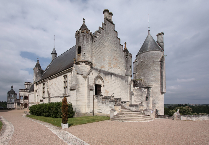 Logis Royal, na cidade murada de Loches
