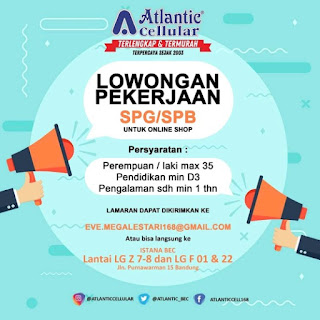 Loker BEC Bandung 2020