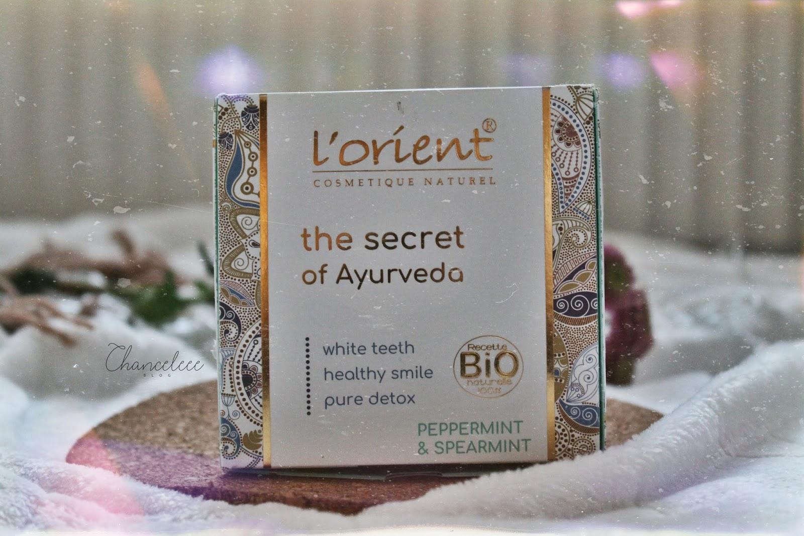 L'orient ajurwedyjska płukanka do ust - czy rzeczywiście skuteczna?