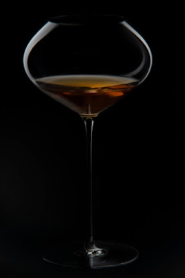orange wine glass archè 2020