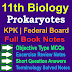 11 Class Biology Notes   Prokaryotes