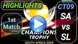 SA vs SL 1st Match