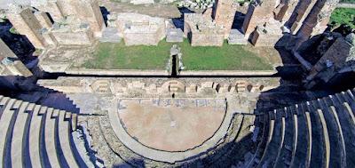 «Λίφτινγκ» στο Ρωμαϊκό Ωδείο της Νικόπολης