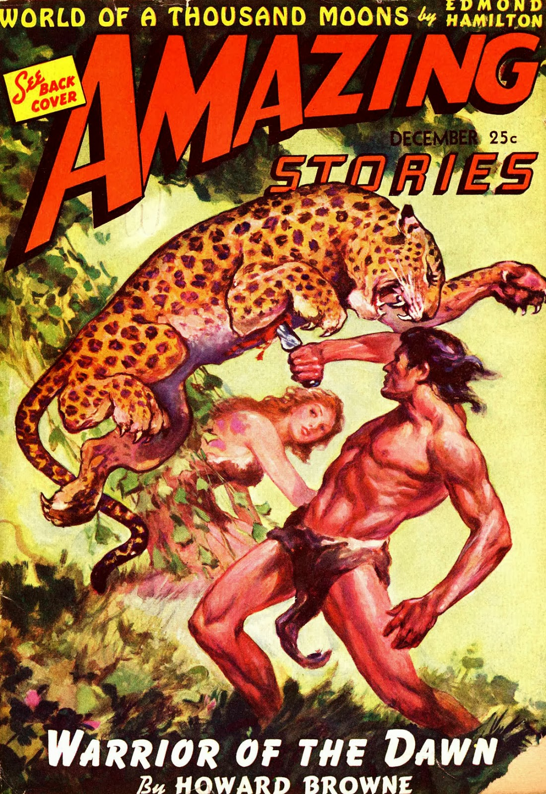 Amazing Stories Volume 21 Number 06: The Geeky Nerfherder: Sci-Fi, Fantasy & Horror Cover Art