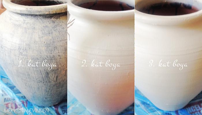 Hobi Işleri Küp Vazo Boyama Mervenin Evinden