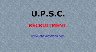 UPSC Recruitment - 2018