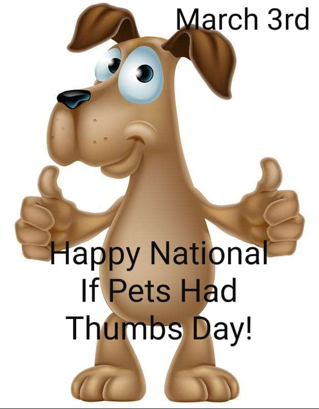 National If Pets Had Thumbs Day Wishes Images download