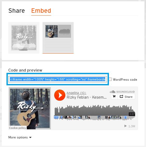 Cara Memasang Lagu Di Blog Dengan Lagu Sendiri
