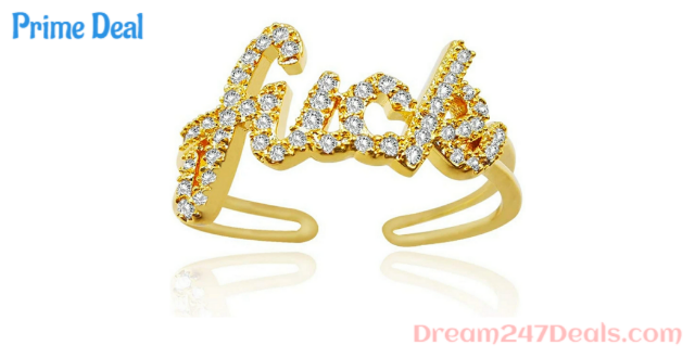 65% OFF 18K Gold Plated Ring