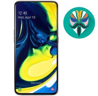 طريقة عمل روت لجهاز Galaxy A80 SM-A805F اصدار 9.0