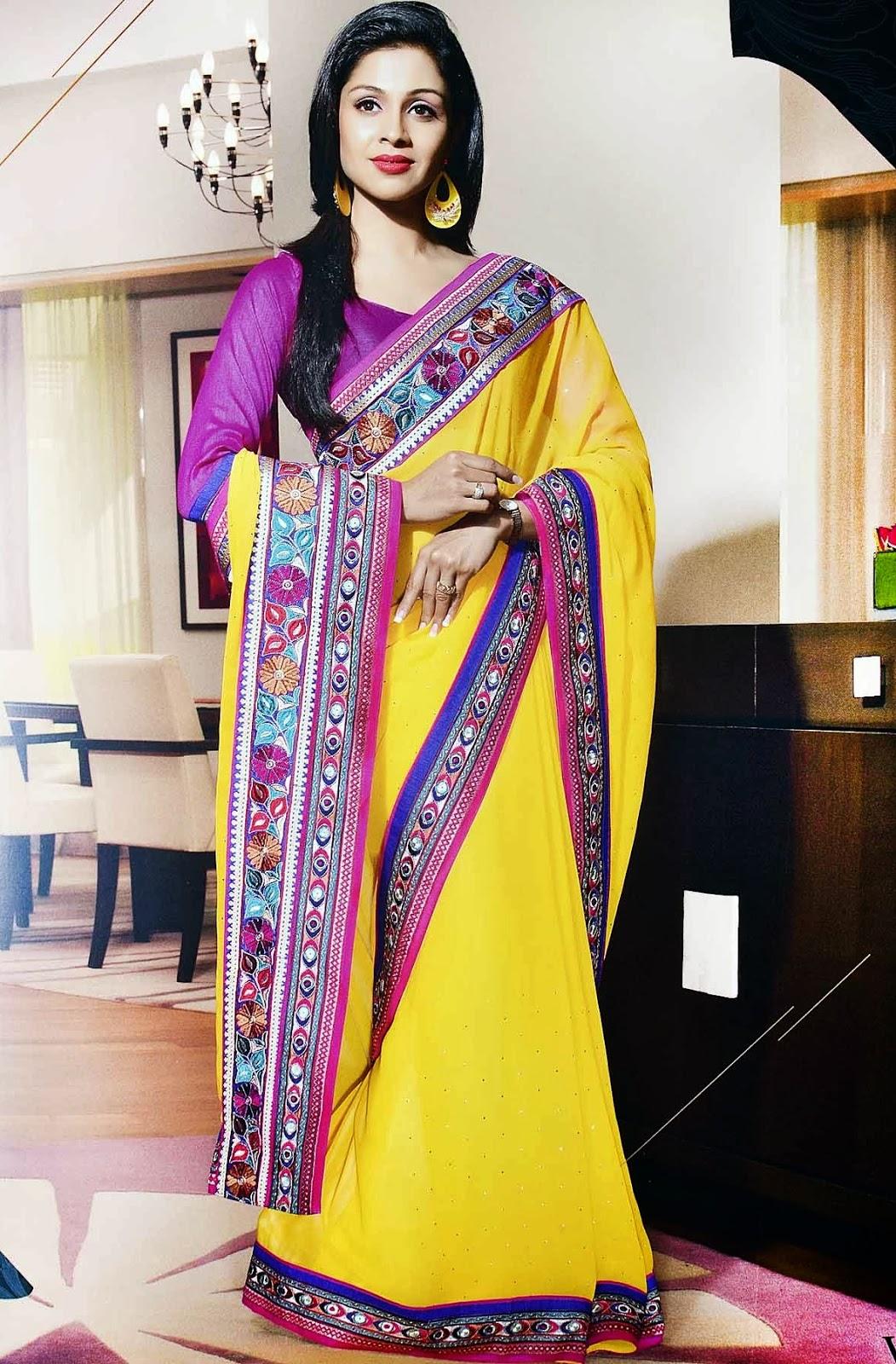 02b368d186477e Latest Designer Sarees for Girls – Drape it Gorgeous! | Samyakk
